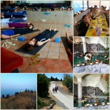 סדנת יוגה סופ״ש בקיבוץ חרוב במצפה השלום